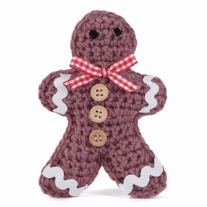 Make your own - Crochet Gingerbread Man Decoration