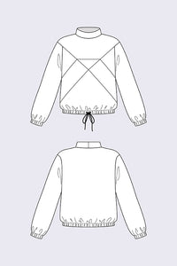 Named Clothing - GEMMA Sweater 2in1 Sewing Pattern