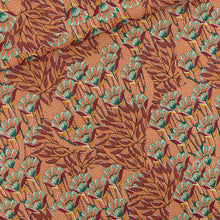 See You At Six - Gilly Flowers Woven Viscose Rayon Fabric