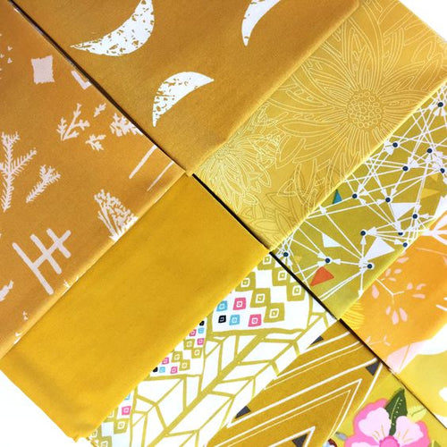 Art Gallery Color Master Fat Quarter Selection Box - Gold Leaf