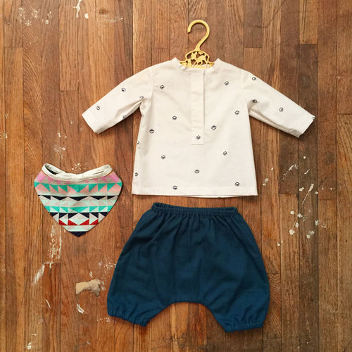 Green Bee -  Modern Baby Set Sewing Pattern