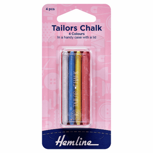 Hemline Tailors Chalk Set with Handy Case