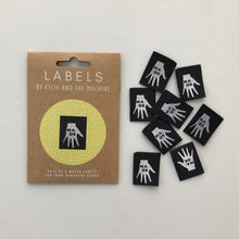 "Kylie and the Machine - ""MADE"" Pack of 8 Woven Labels"