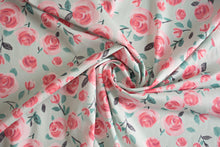 Lisa Comfort - All the Roses Cotton Lawn - Mint