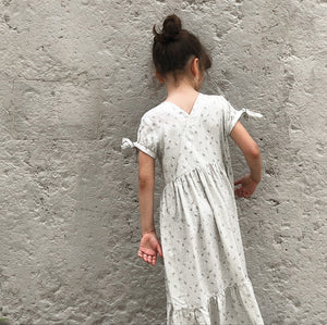 Ikatee - ANNA Dress  3-12 Years - Paper Sewing Pattern