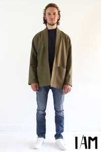 I AM - Artemis Jacket / Trench Coat (Mens Pattern)