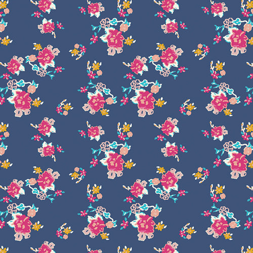 Art Gallery Fabrics - Bohemian Charms Abloom Knit Fabric
