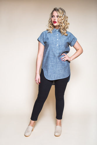 Closet Core - Kalle Shirt & Shirtdress Sewing Pattern