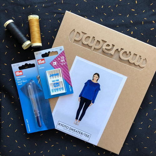 Kyoto Sweater Dazzle Night sewing Kit