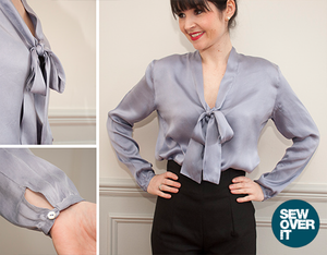 Sew Over It - Pussy Bow Blouse Sewing Pattern