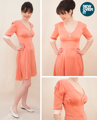 Sew Over It - 1940's Tea Dress Sewing Pattern