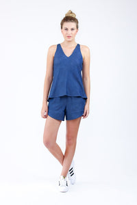Megan Nielsen Reef Camisole and Shorts Sewing Pattern