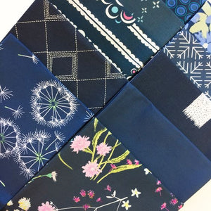Art Gallery Color Master Fat Quarter Selection Box - Midnight Blue