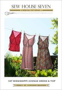 Sew House Seven - Mississippi Avenue Dress & Top Sewing Pattern