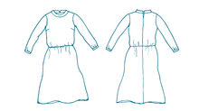 Atelier Jupe - Sienna Winter Dress Sewing Pattern