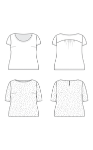 Cashmerette Montrose Top Sewing Pattern