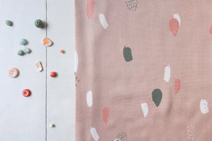 Atelier Brunette - Moonstone Pink viscose / rayon dress Fabric