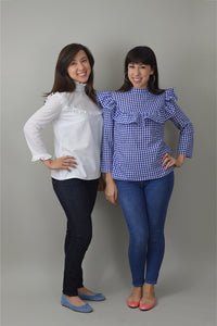 NINALEE Bloomsberry Blouse Sewing Pattern