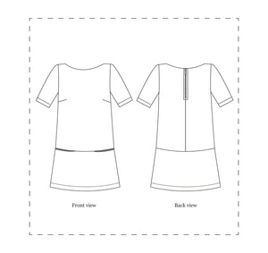 NINALEE Carnaby Dress Sewing Pattern