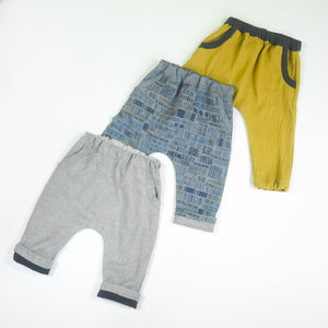 Ikatee - SEVILLA Unisex Trousers - Baby 1M-4Y- Paper Sewing Pattern