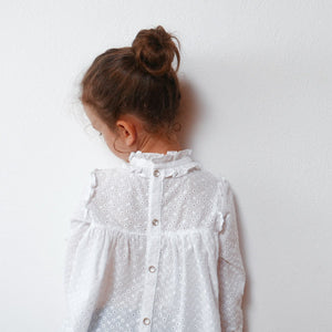 Ikatee - LOUISE Dress - Blouse - Ages 3-12  Paper Sewing Pattern