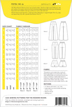 Closet Case - Pietra Trousers and Shorts Sewing Pattern