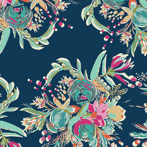 Art Gallery Fabrics - Coquet Bouquet Rayon from Splendid Fusion