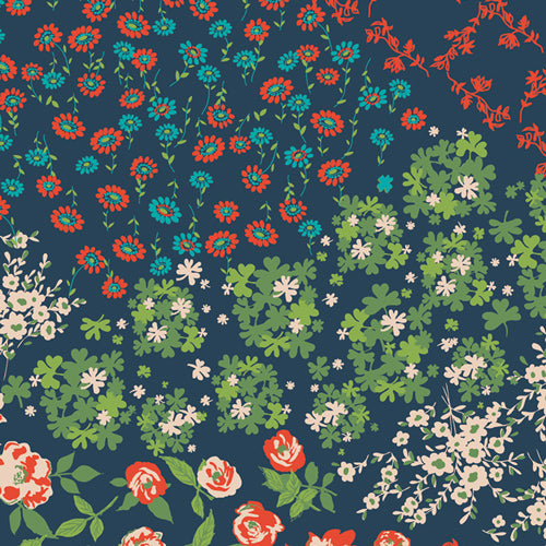 Art Gallery Fabrics - Flower Keeper in Rayon from Everlasting
