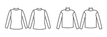Papercut Patterns - Rise and Fall Turtlenecks Sewing Pattern
