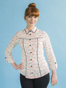 Tilly and the Buttons - Rosa Shirt or Shirt Dress Sewing Pattern