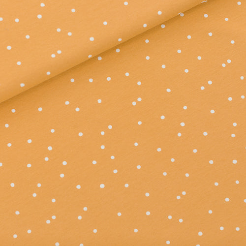 See You At Six - Snow Dots Honey Yellow French Terry