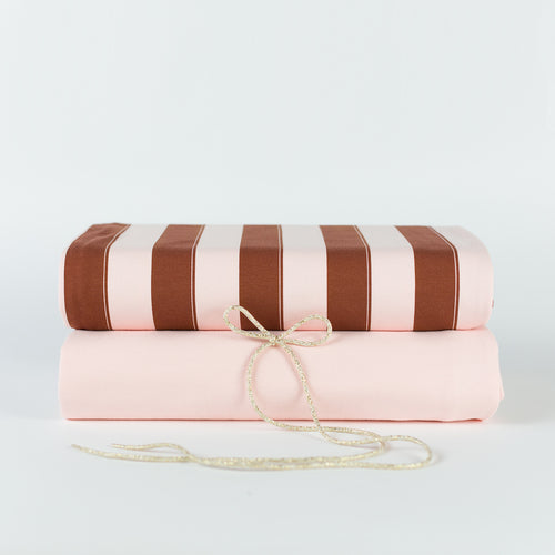See You At Six - Quartz Pink Plain French Terry
