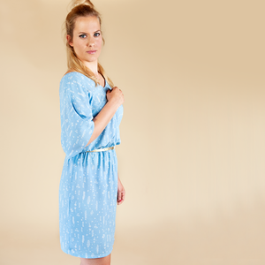 See You At Six - Herbs Light Blue Viscose Rayon