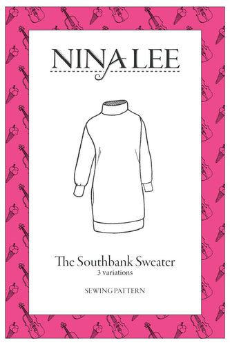 NINALEE The Southbank Sweater Sewing Pattern