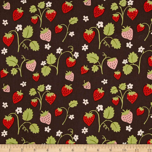 Monaluna - Strawberry Fields from Cottage Garden Organic cotton