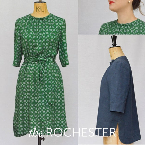 Maven Sewing Patterns - The Rochester Top & Dress