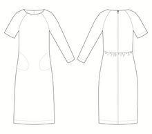 The Avid Seamstress THE GATHERED DRESS Sewing Pattern