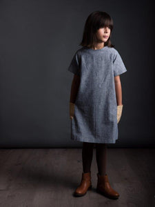 The Avid Seamstress RAGLAN Dress - Sewing Pattern (ages 3-8)