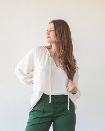 True / Bias  -  ROSCOE Blouse & Dress Sewing Pattern