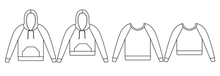 Papercut Patterns - Undercover hood Sewing Pattern