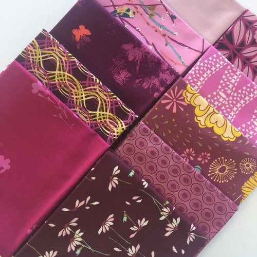 Art Gallery Color Master Fat Quarter Selection Box - Vibrant Violet