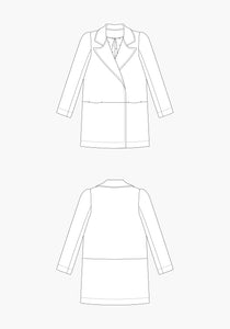 Grainline Studio Yates Coat Sewing Pattern