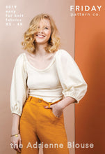 FRIDAY Pattern Co the Adrienne Blouse Sewing Pattern