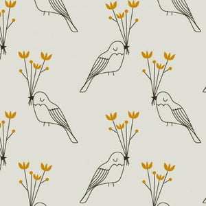 Bird Beautiful Organic Cotton Jersey