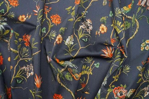 Lady McElroy -Charcoal Dream Cotton Jersey Fabric
