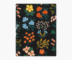 Rifle Paper Co - Wildflower Field Cotton Linen Canvas from Meadow