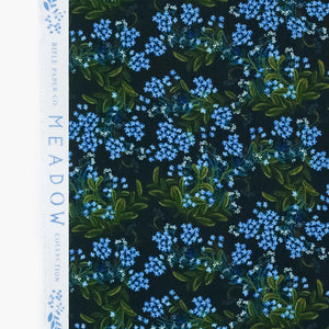 Rifle Paper Co - Cornflower Navy Rayon from Meadow