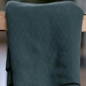 Meet MILK - Tencel Diamond Deep Green Dress Fabric