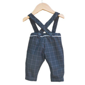 Ikatee - BRIGHTON pants/shorty with suspenders - Baby 6M/4Y- Paper Sewing Pattern