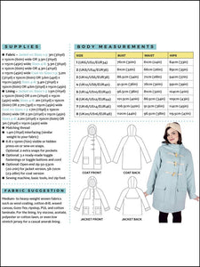 Tilly and the Buttons - Eden Coat Sewing Pattern